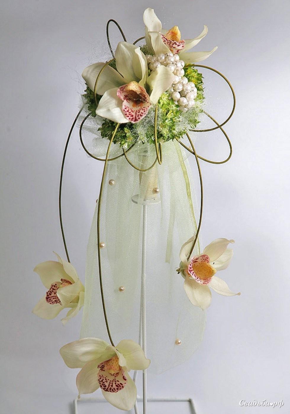 Орхидея в коробочке своими руками